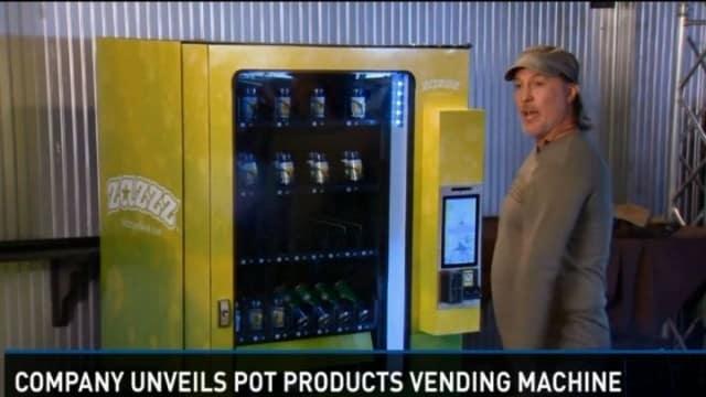 Etats-Unis des distributeurs à cannabis débarquent au Colorado