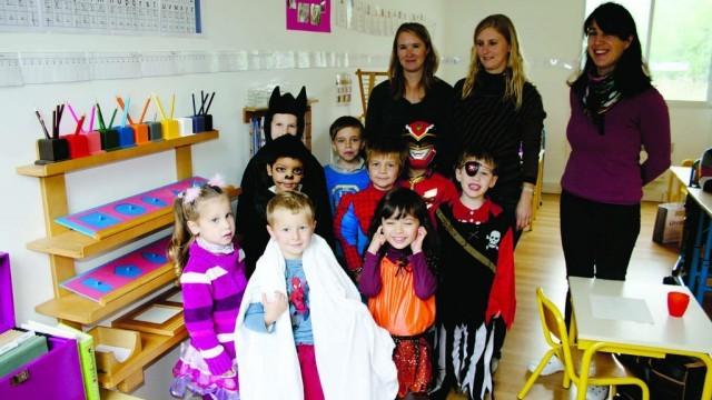 Pontoise l'école Montessori ELLA ouvrait ses portes aux premiers élèves à la rentrée 2013