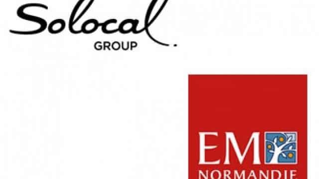 L'EM Normandie entérine une convention de partenariat avec Solocal Group
