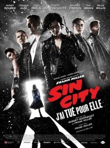 Sin City2  découvrez l'affiche définitive avec Jessica Alba, Eva Green et Bruce Willis
