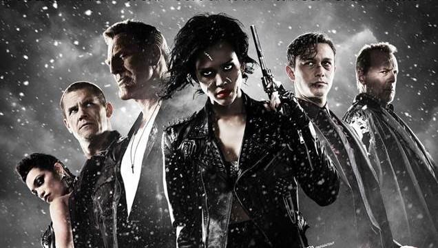 Sin City 2 découvrez l'affiche définitive avec Jessica Alba, Eva Green et Bruce Willis