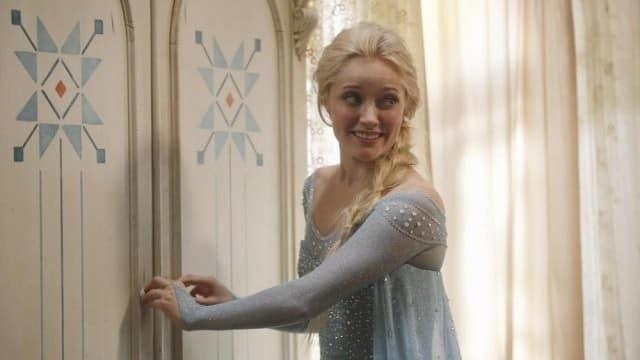 Once Upon a Time la reine des neiges se dévoile en photo