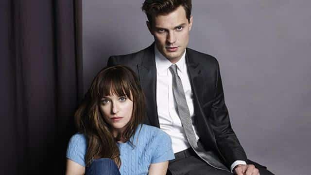 50 Nuances de Grey Jamie Dornan tombe la cravate sur ces nouvelles affiches