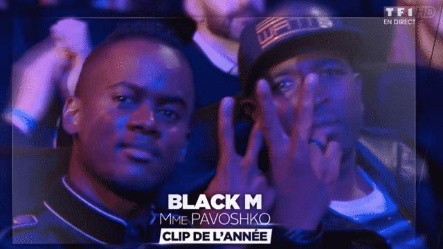 NMA : Black M remporte l'award du meilleur clip de l'année avec « Mme Pavoshko »