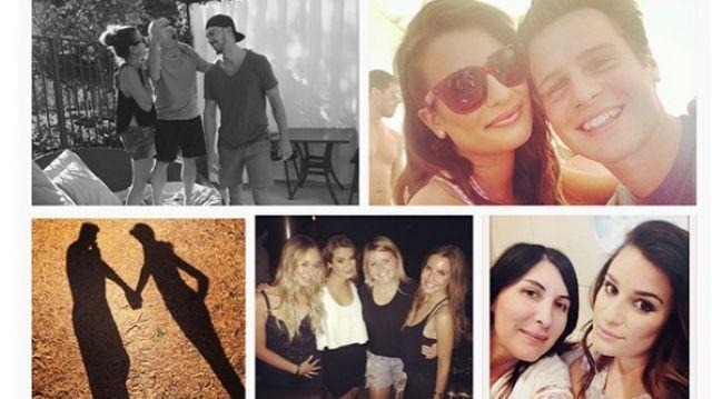 Lea Michele amoureuse de Matthew Paetz et ravie de son année 2014 avec Jonathan Groff Glee