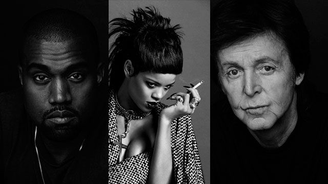 Rihanna : un trio avec Kanye West et Paul McCartney