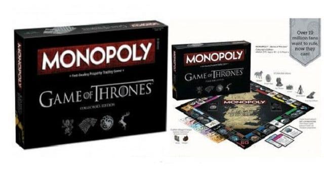 Game of Thrones découvrez le Monopoly inspiré de la série culte