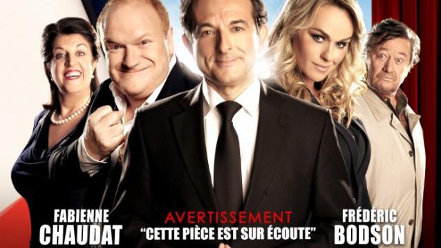 Le Bouffon du président : une comédie hilarante au Théâtre des Variétés