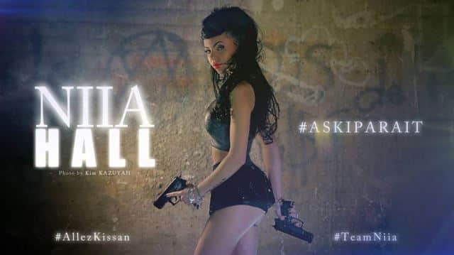 Niia Hall: la mini-Nabilla étonnante et sexy dans le clip de son tube #Askiparait !