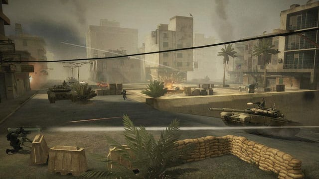 Battlefield Play 4 Free proposait des combats à 32 joueurs