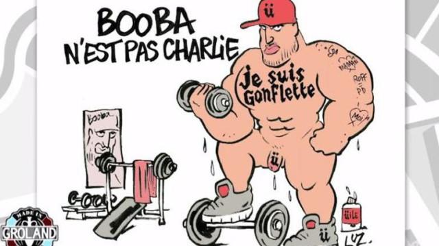 Booba Clashé par le dessinateur Luz !