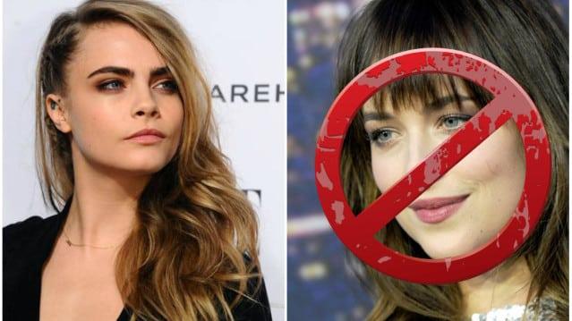 50 nuances de Grey : Cara Delevingne in, Dakota Johnson out?