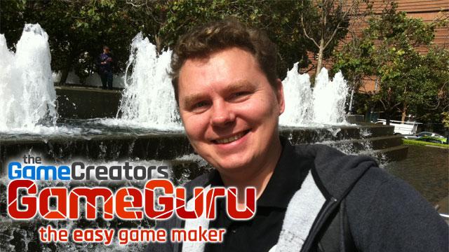 Lee Bamber, PDG de The Game Creators