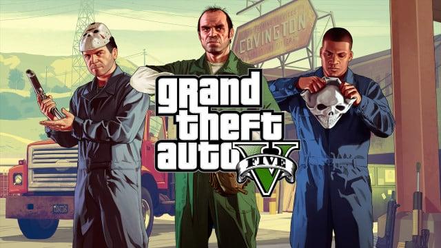 GTA V est le 3ème titre le plus joué