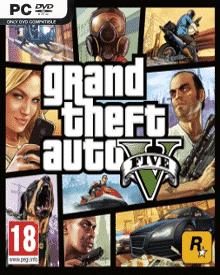 Jaquette de GTA V sur PC