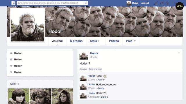 Game of Thrones saison 5: découvrez le profil facebook des personnages!
