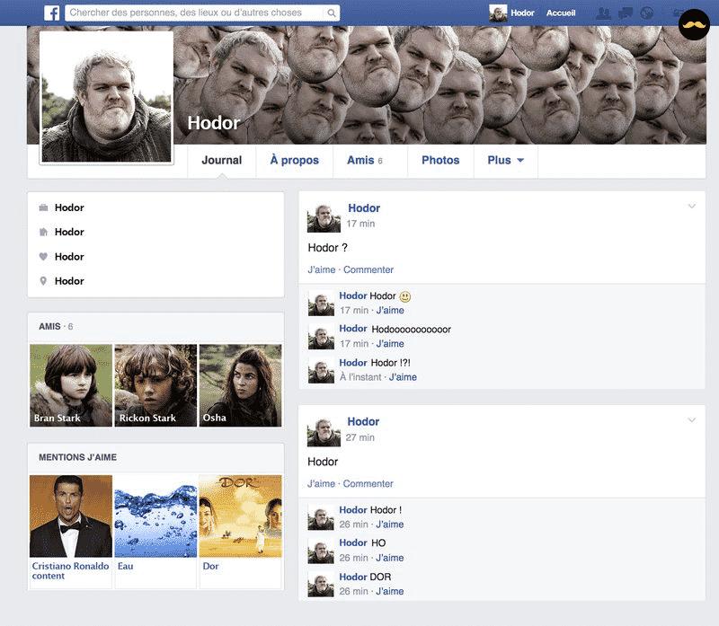 Game Of Thrones Saison 5 Découvrez Le Profil Facebook Des Personnages2