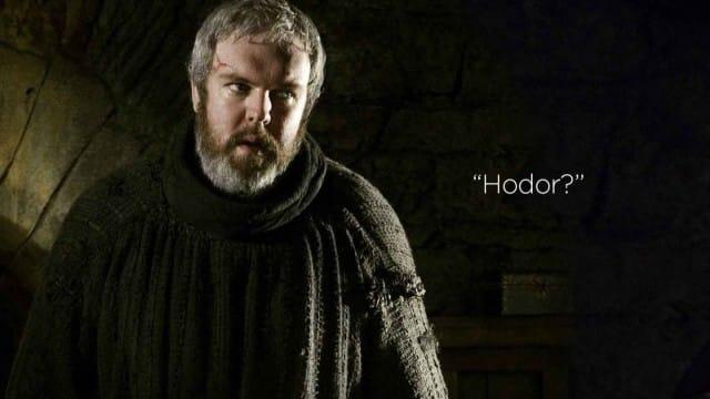 Game of Thrones saison 5: qu'on donne la parole à Hodor!