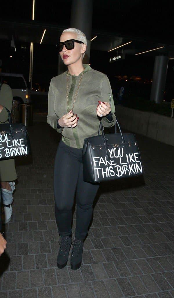 Kim Kardashian - Amber Rose l'insulte de fausse