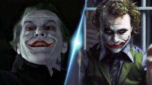 Le Joker de Nicholson et celui d'Headger