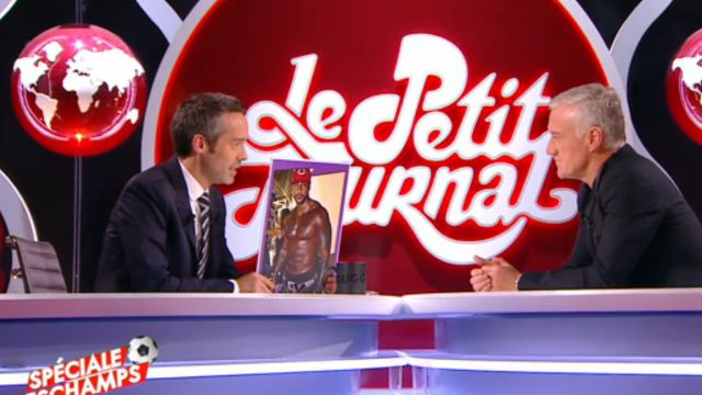 Le Petit Journal Didier Deschamps ignore qui est Booba et ironise sur ses muscles et ses tatouages !
