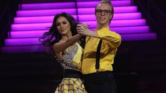 Leila (SS8) elle se blesse dans « Danse avec les stars » !