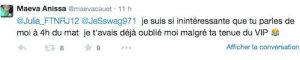 Les Anges 7Maeva (Mag de NRJ12) clashe Julia « t'es remplie de MST » !