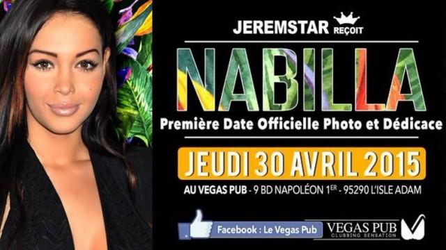 Nabilla Jeremstar dévoile tous les détails du booking au « Vegas Pub » !