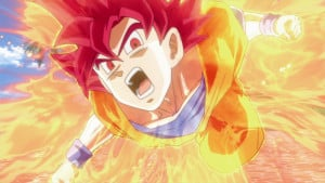 Son Goku Super Sayan God