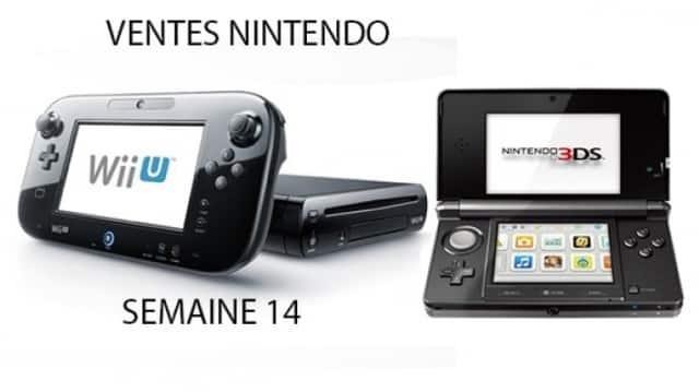 TOP 3 des ventes Nintendo: semaine 14