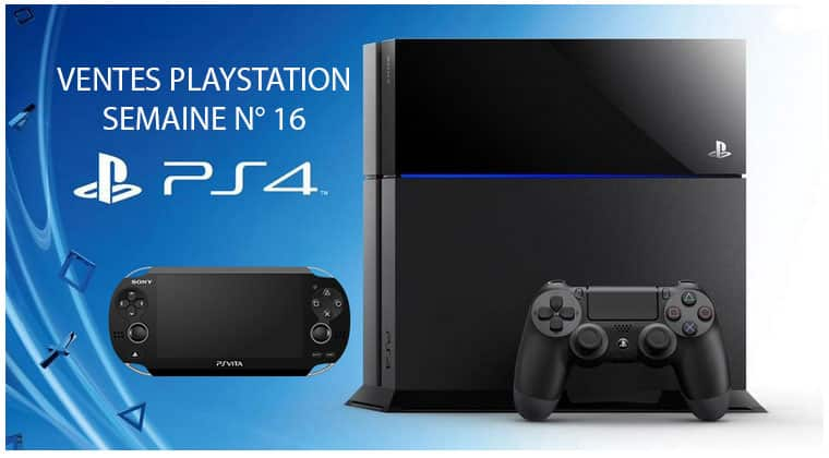 Top 3 ventes PlayStation semaine 16