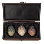 Le coffret d'œufs de Dragon en bois de Daenerys intégralement fait main!