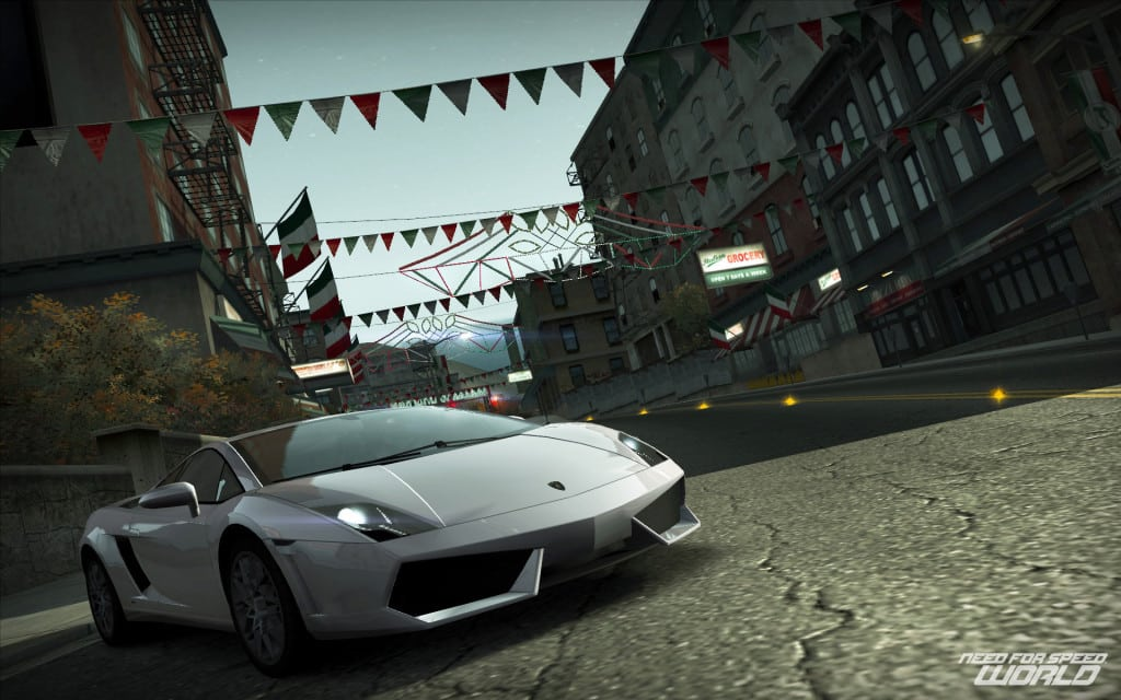 Need For Speed World était le seul Need For Speed Free 2 Play