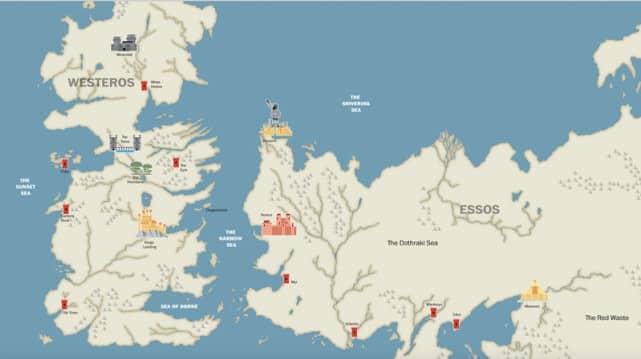Game Of Thrones saison 5: un résumé des quatre dernières saisons en 5min! (vidéo)