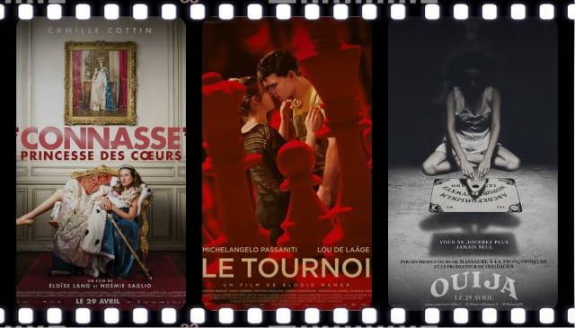Sorties ciné: Connasse Princesse des coeurs, Le Tournoi, Ouija...découvrez les films de la semaine