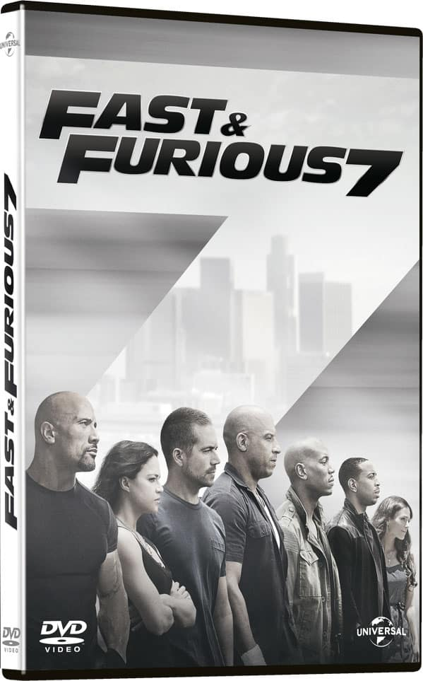 dvd fast and furious 7