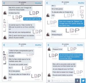 La conversation entre Ali et Vivian, dévoilée par Nana LDP