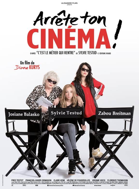 Josiane Balasko et Zabou Breitman font leur cinéma dans Arrête ton cinéma ! Le 13 janvier au cinéma
