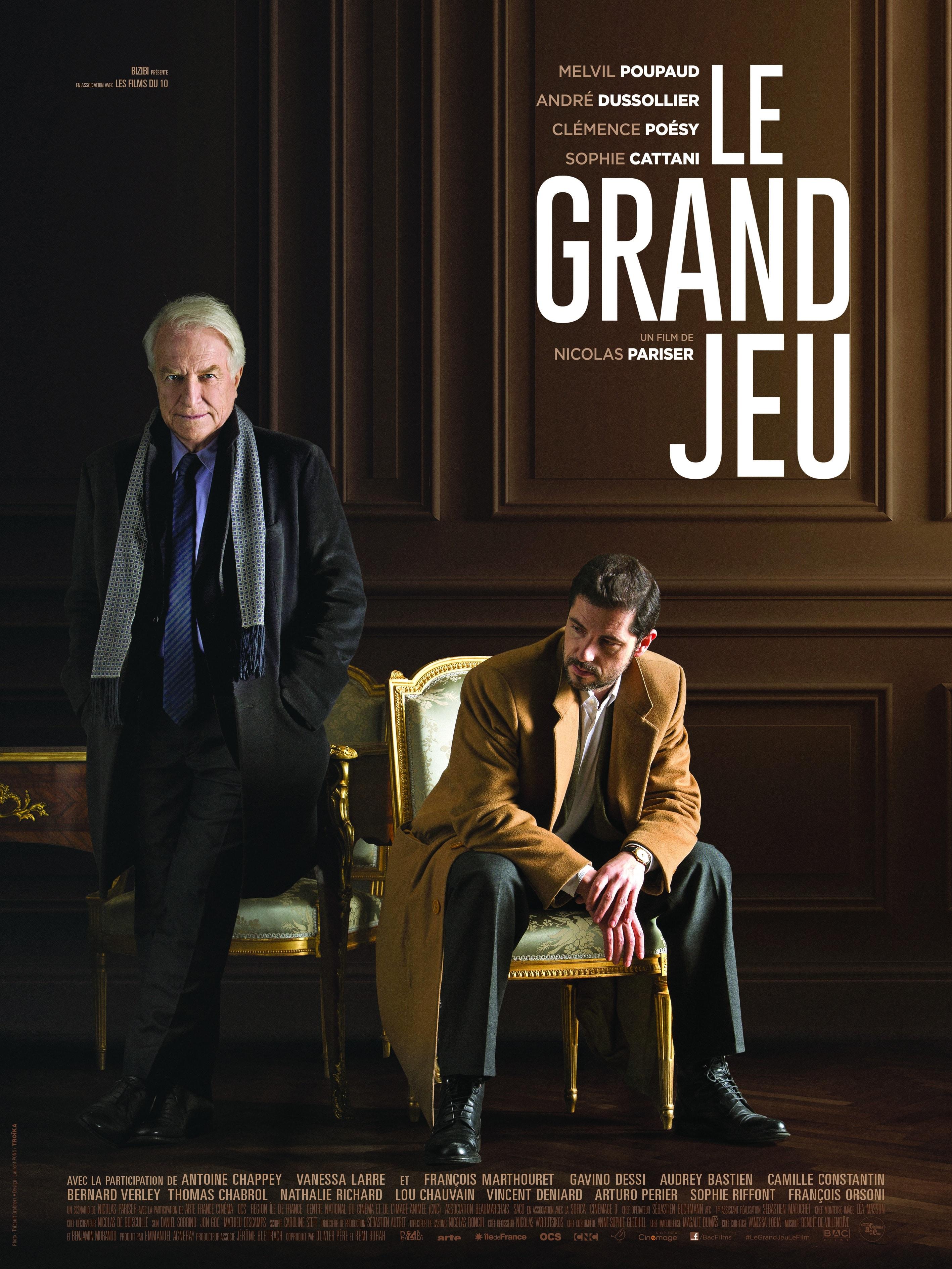 Le Grand Jeu, présentation du film actuellement au cinéma