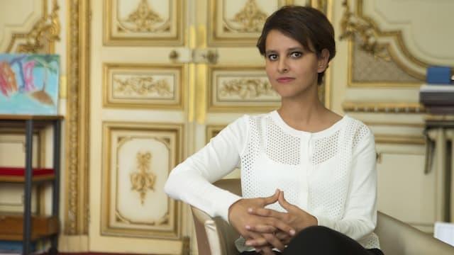 Réforme territoriales: Najat Vallaud Belkacem dévoile la nouvelle carte des académies scolaires de France