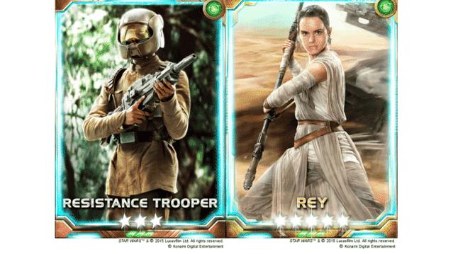 Star Wars FORCE COLLECTION met à jour son contenu en s'inspirant de Star Wars Le Réveil de la Force