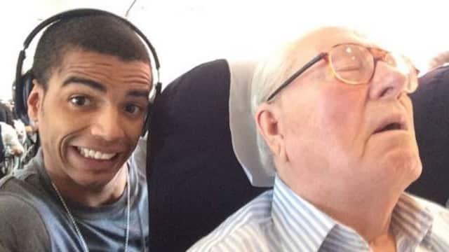 Selfie:Jean-Marie Le Pen a décidé de porter plainte contre Brahim Zaibat!