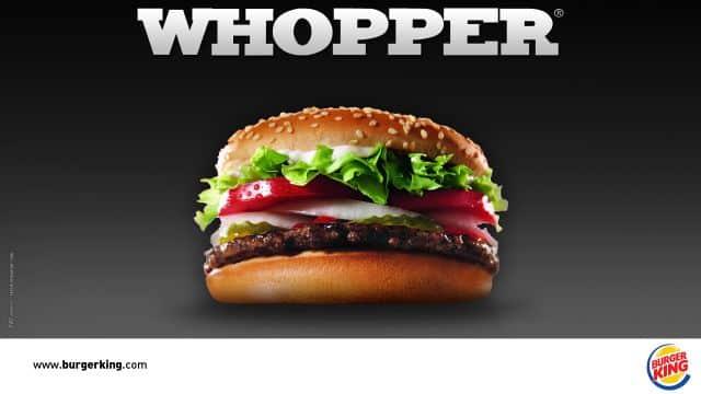 Burger King débarque chez vous avec des kits pour préparer son whopper!