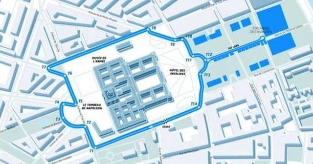 Circuit formule E Paris
