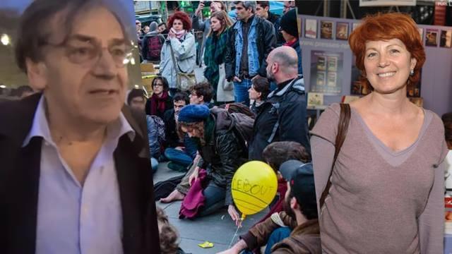 Nuit Debout: Véronique Genest et Alain Finkielkraut s'attaque ouvertement à la mobilisation