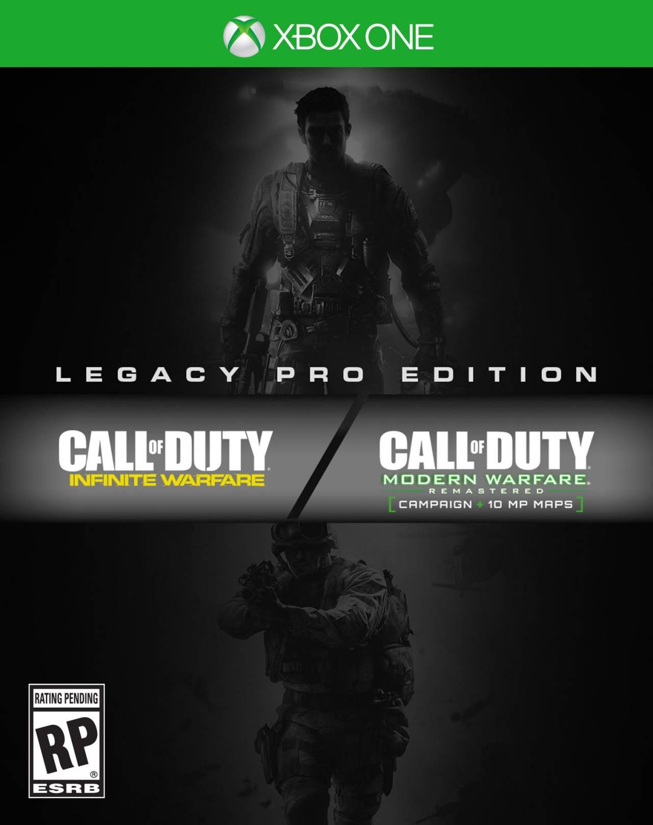 La jaquette de l'édition Legacy Pro d'Infinite Warfare
