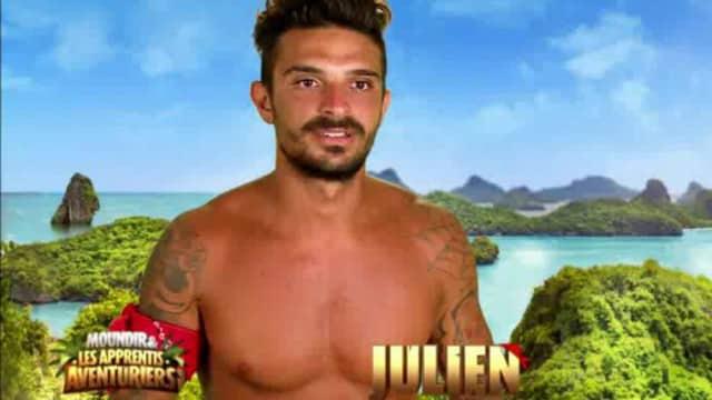 Moundir et les apprentis aventuriers- Julien avoue « je cherche à user mentalement mes adversaires ! »