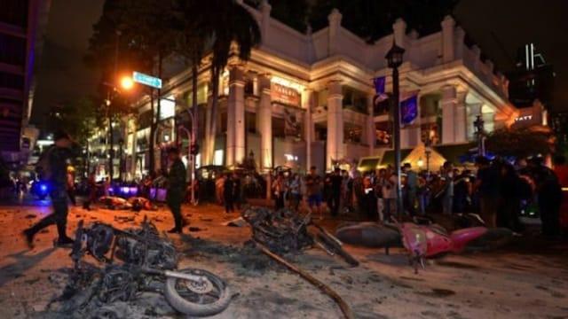 Thaïlande: une série d'explosions secoue le pays et fait quatre victimes