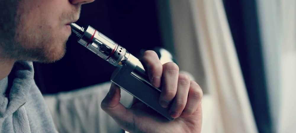 Cigarette électronique: elle explose et lui brûle la cuisse et les mains