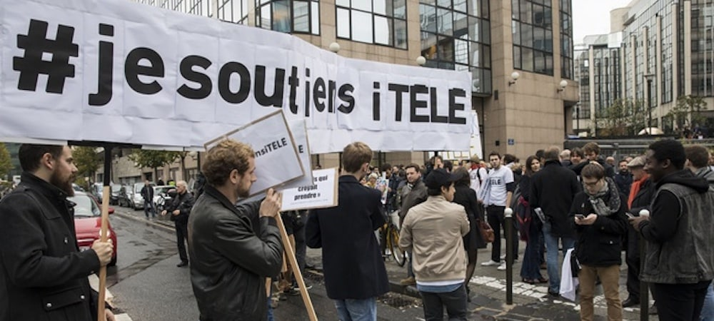 iTélé: les journalistes votent la fin d'une grève historique